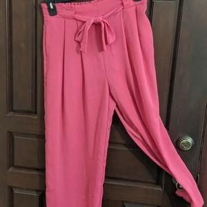 Zara Hot Pink Pants